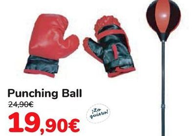 Oferta de Punchin Ball  por 19,9€