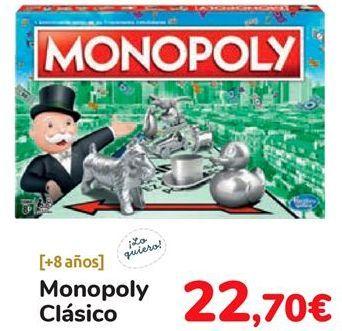 Oferta de Monopoly clásico  por 22,7€