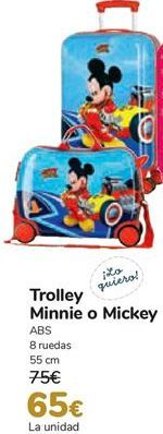 Oferta de Trolley Minnie o Mickey  por 65€