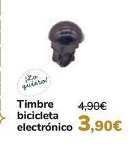Oferta de Timbre bicicletas electrónico  por 3,9€