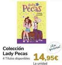 Oferta de Colección Lady Pecas  por 14,95€
