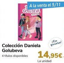 Oferta de Colección Daniela Golubeva por 14,95€
