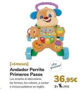 Oferta de Andador Perrito Primeros Pasos por 36,95€