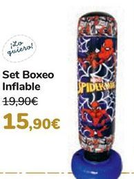 Oferta de Set Boxeo Inflable  por 15,9€