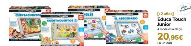 Oferta de Educa Touch Junior  por 20,95€