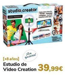 Oferta de Estudio de Video Creation  por 39,99€