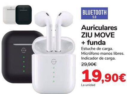 Oferta de Auriculares ZIU MOVE + Funda por 19,9€