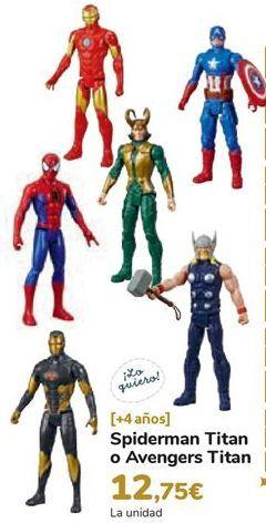 Oferta de Spiderman Titan o Avengers Titan por 12,75€