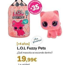 Oferta de L.O.L Fuzzy Pets por 19,99€