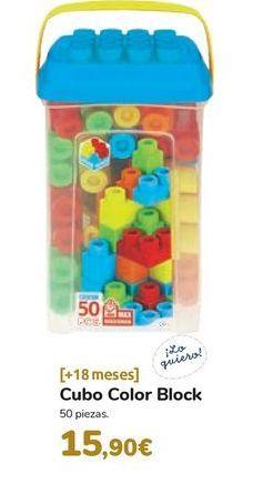 Oferta de Cubo Color Block por 15,9€