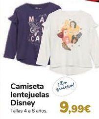 Oferta de Camiseta lentejuelas Disney  por 9,99€