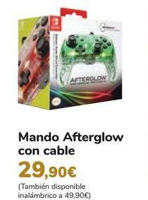 Oferta de Mando Afterglow con cable por 29,9€