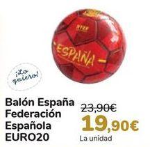 Oferta de Balón España Federación Española EURO20 por 19,9€