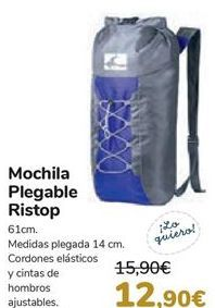 Oferta de Mochila plegable Ristop  por 12,9€