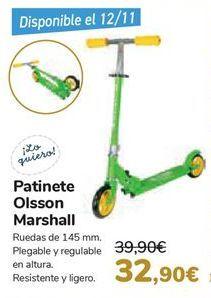 Oferta de Patinete Olsson Marshall  por 32,9€