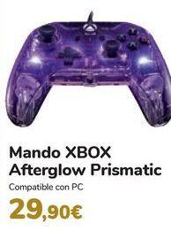 Oferta de Mando XBOX Afterglow Prismatic  por 29,9€