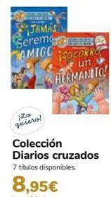 Oferta de Colección Diarios cruzados  por 8,95€
