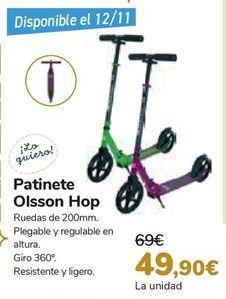 Oferta de Patinete Olsson Hop  por 49,9€