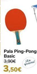 Oferta de Pala Ping-Pong Basic por 3,5€