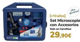 Oferta de Set microscopio con accesorios  por 29,9€
