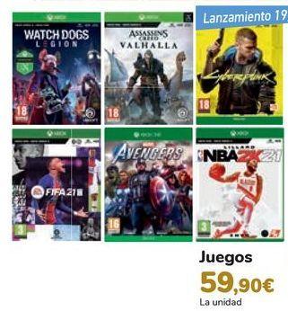 Oferta de Juegos  por 59,9€