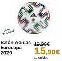 Oferta de Balón Adidas Eurocopa 2020 por 15,9€