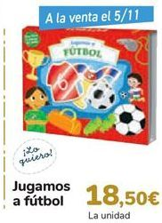Oferta de Jugamos al Fútbol  por 18,5€