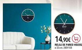 Oferta de Reloj de pared por 14,9€