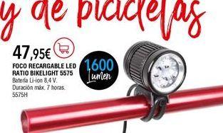 Oferta de Linterna por 47,95€
