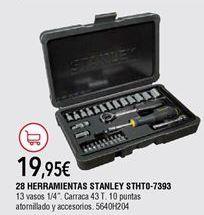 Oferta de Maletín de herramientas Stanley por 19,95€
