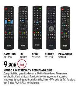 Oferta de Mando tv por 9,9€