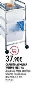 Oferta de Carrito auxiliar por 37,9€