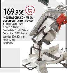 Oferta de Ingletadora Ratio por 169,95€