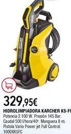 Oferta de Hidrolimpiadora Kärcher por 329,95€