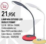 Oferta de Lámpara de mesa por 21,95€