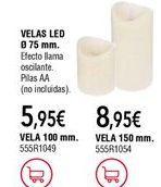 Oferta de Velas por 5,95€