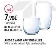 Oferta de Vasos por 7,9€