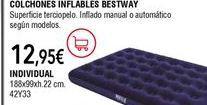 Oferta de Colchón hinchable por 12,95€