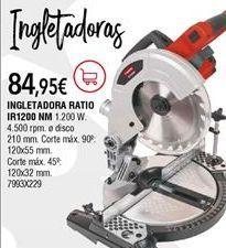 Oferta de Ingletadora por 84,95€