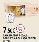 Oferta de Caja de madera multiusos por 7,5€