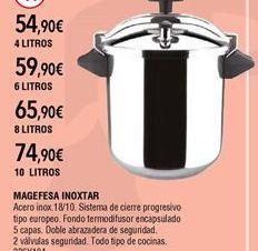 Oferta de Olla a presión por 74,9€