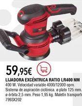 Oferta de Lijadora excéntrica de aire comprimido por 59,95€