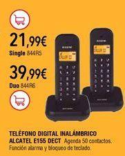 Oferta de Teléfono inalámbrico por 21,99€