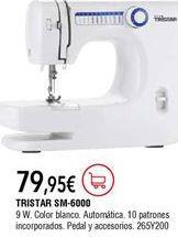 Oferta de Máquina de coser por 79,95€