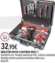 Oferta de Maletín de herramientas por 32,95€