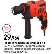 Oferta de Taladro percutor Black & Decker por 29,95€