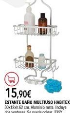 Oferta de Estante de baño por 15,9€