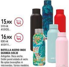 Oferta de Botella de agua por 16,9€