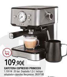 Oferta de Cafetera espresso por 109,9€
