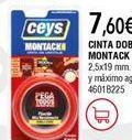 Oferta de Cinta adhesiva ceys por 7,6€